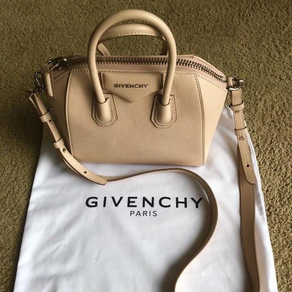 6e7ad65fe62 Givenchy Handbags - Authentic Givenchy Mini Antigona Nude Pink